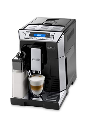 De'Longhi Eletta Digital Super Automatic Espresso Machine with Latte Crema System, Black