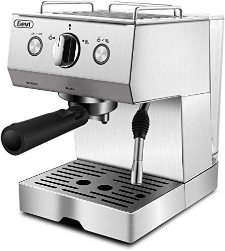 15 Bar Espresso and Cappuccino Machine with Milk Frother