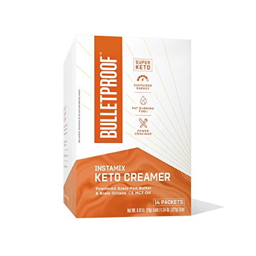 Bulletproof InstaMix Coffee Creamer, 0.81oz(23g), 14 Packets