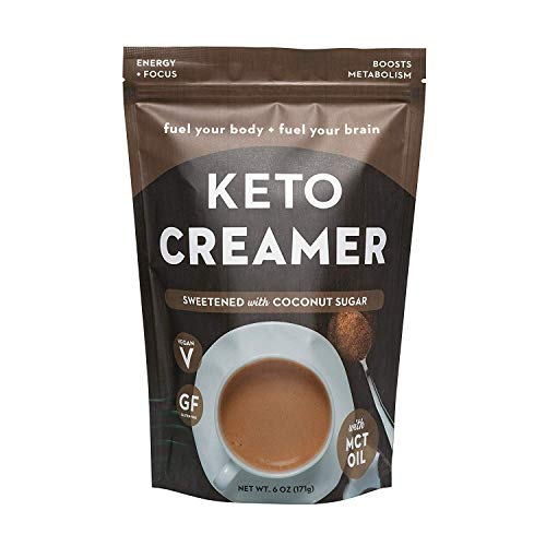 360 Nutrition KETO Creamer With MCT Oil | Sweetened with Coconut Sugar | Dairy Free Coffee Creamer Milk Substitute | Weight Loss, Energy, Fat Loss, Supports Ketosis…