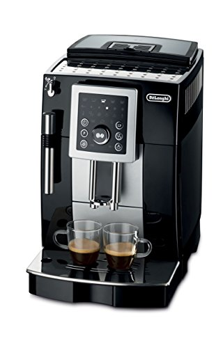 DeLonghi ECAM23210 Compact Magnifica S Super-Automatic Espresso Machine Beverage Center (Black)