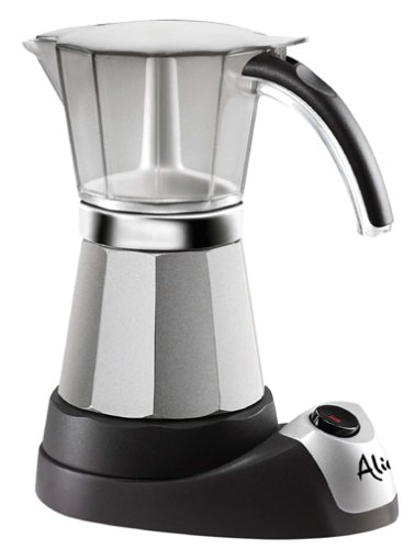 DELONGHI EMK6 for Authentic Italian Espresso, 6 cups, Stainless Steel