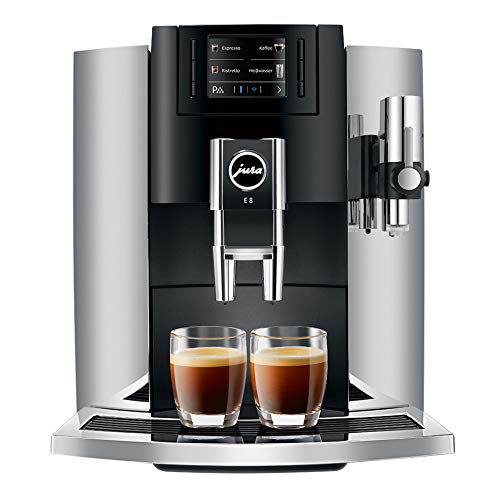 Jura E8 Automatic Coffee Machines 15271, Chrome
