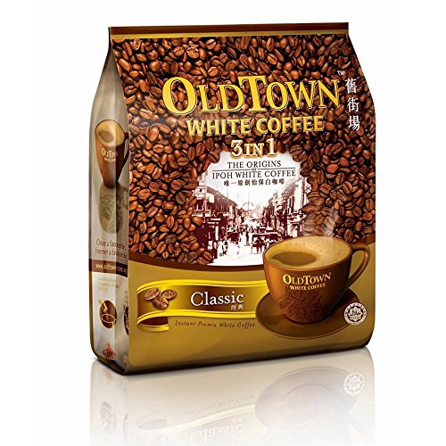 Old Town White Coffee / Signature Classic / Perfect Smooth Blend / Rich Creamy Aromatic Lingering Aftertaste / 15s x 40g