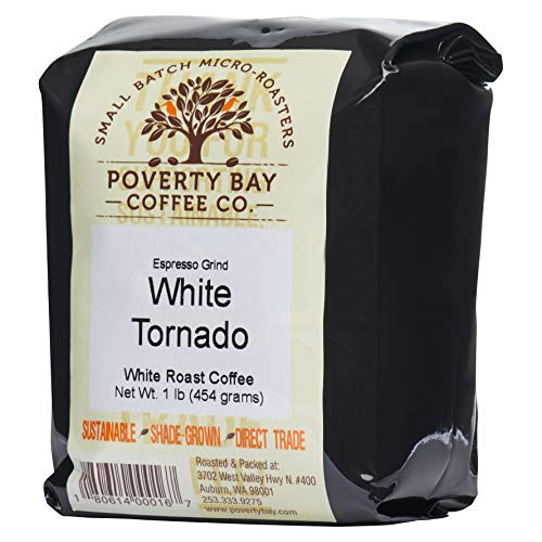 White Coffee - 2lb Bag of White Coffee Beans Roasted By Poverty Bay Coffee Co, Ground White Coffee, Special Grind - What is White Coffee?