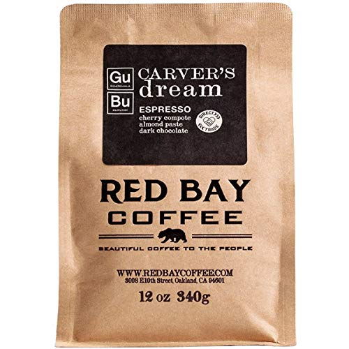 Red Bay Coffee Carver's Dream Whole Bean Espresso - Burundi & Guatemala Coffee - Direct Trade Espresso Beans - Specialty Coffee Whole Bean - 2.5oz Sample of Specialty Coffee Beans
