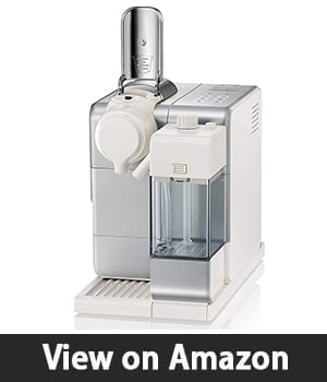 Nespresso Lattissima Touch - Original Espresso Machine with Milk Frother by De'Longhi, Frosted Silver