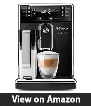 1. Philips Saeco HD8927/37 PicoBaristo - Super Automatic Espresso Machine Countertop Piano Black