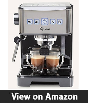 Capresso 124.01 Ultima Pro - Programmable Pump Espresso Machine