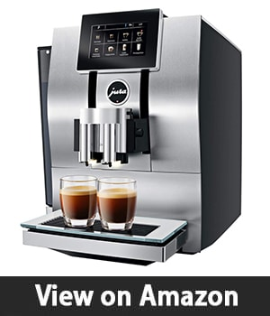 Z8 Aluminum Automatic Espresso & Cappuccino Machine with Touch screen