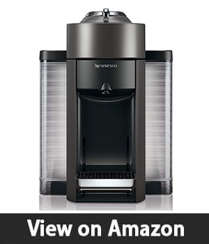 3. Nespresso Vertuo Evoluo - Coffee and Espresso Machine by De'Longhi Graphite Metal