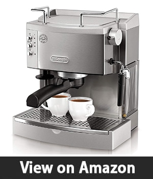 DeLonghi EC702 15-Bar-Pump - Espresso Machine