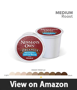 8. Newman's Own Organics Keurig Single - Serve K-Cup Pods Newman's Special Blend Medium Roast Coffee