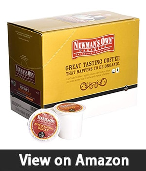 9. Newman's Own Organics - Special DECAF Coffe 96 K-Cups for Keurig