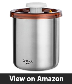 Osaka Coffee Canister - Best Coffee Canister with Vacuum Seal