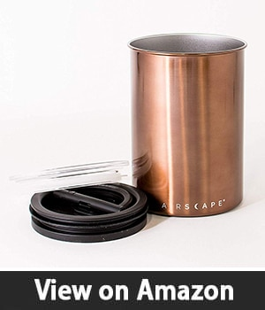 Airscape Coffee Canister - Best Coffee Canister with Large Capacity