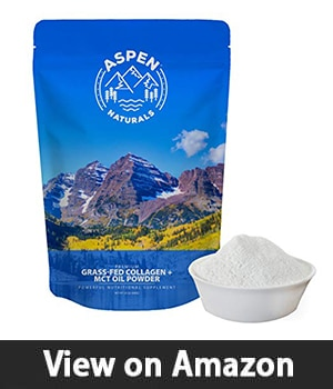 Aspen Naturals Keto Protein Powder - Best Coffee Creamer with Collagen and MCT Oil
