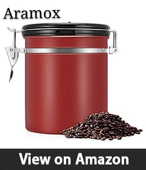 EECOO Airtight Coffee Canister - Best Coffee Canister with Exceptional Durability