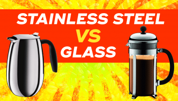 Stainless Steel vs Glass French Press Coffee Makers