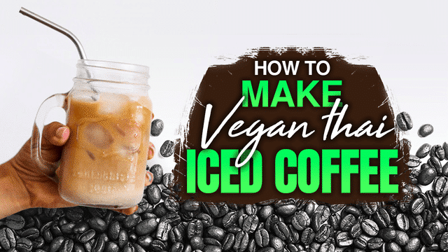 vegan thai iced coffee