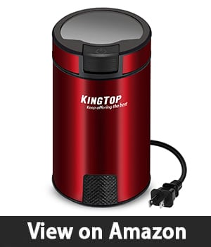 Coffee Grinder Electric 200W KINGTOP (Red)