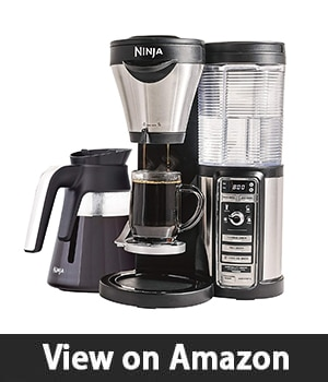 Ninja Coffee Maker for Hot/Iced/Frozen Coffee - with 4 Brew Sizes