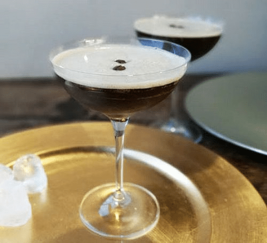 Vodka Martini with Espresso