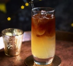 Dark and Stormy Coffee Cocktail