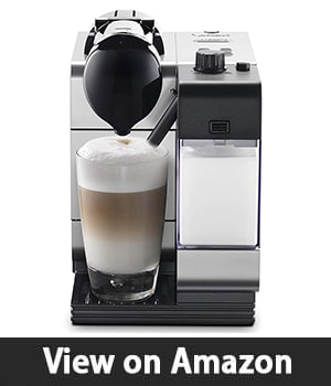 Nespresso by De'Longhi EN520SL Lattissima Plus – Espresso and Cappuccino Machine