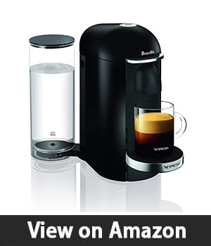 Breville-Nespresso USA BNV450BLK1BUC1 – VertuoPlus Coffee and Espresso Machine