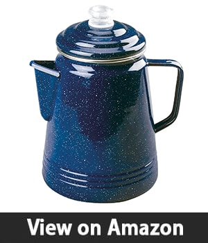 Coleman Enamelware 14 Cup Percolator – Camp Coffee Maker
