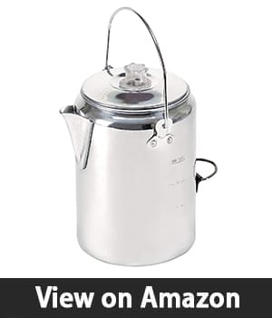 Stansport Aluminum Percolator – Camping Coffee Maker