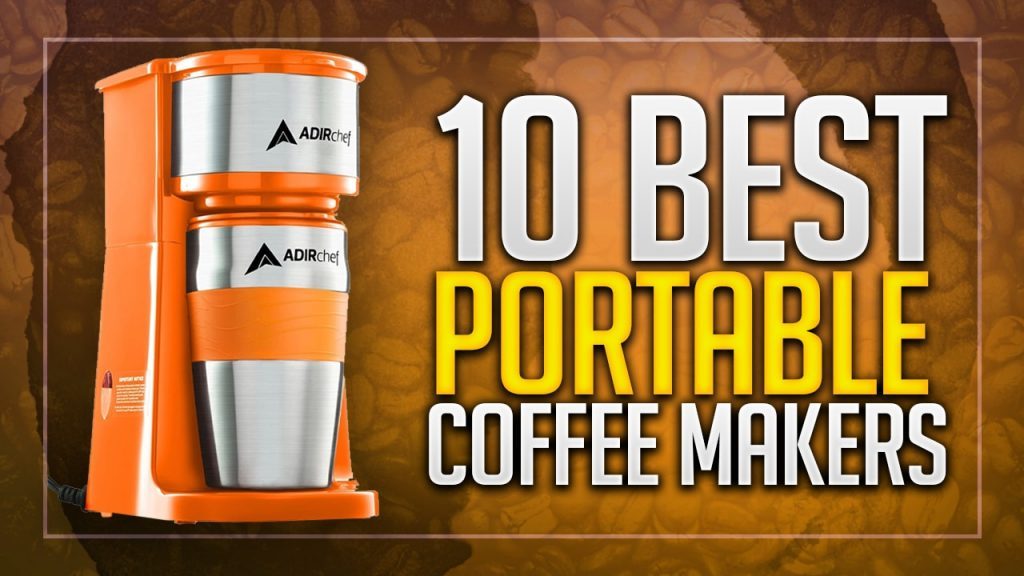 best portable coffee makers for travelling and vacations