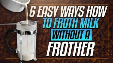 how to froth milk without a milk frother