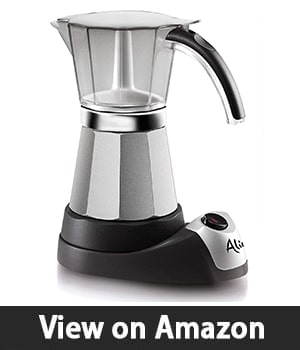DeLonghi EMK6 Alicia Electric Moka Espresso Coffee Maker – Most Practical Option