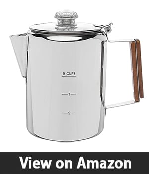 "Coletti ""Bozeman"" Percolator Coffee Pot – Most Durable"
