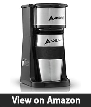 AdirChef Grab N' Go – Personal Coffee Maker