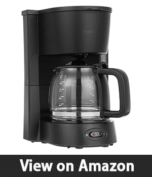 AmazonBasics – Coffeemaker with Glass Carafe