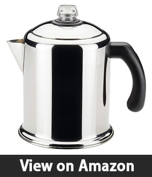 Farberware 50124 Classic Yosemite – Stainless Steel Coffee Percolator
