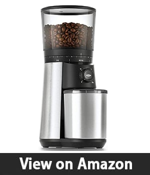 1. OXO BREW Conical Burr Coffee Grinder – Best Coffee Grinder for Home Use