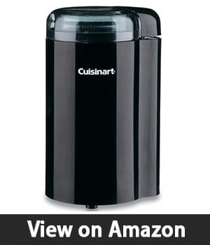 6. Cuisinart DCG-20BKN Coffee Bar Coffee Grinder – Safe Coffee Grinding Machine