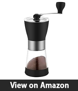 7. Ceramic Burr Hand Coffee Grinder Mill – Best Manual and Portable Coffee Grinding Machine